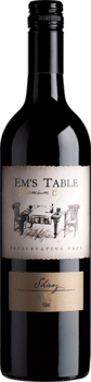 Em's Table Premium Organic Preservative Free Shiraz 2017