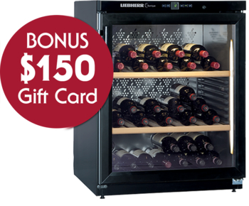 Liebherr WKb1712 Single Zone Wine Cellar with BONUS $150 Gift Card