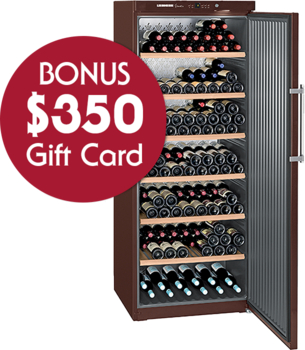 Liebherr Wkt 6451 Grand Cru Single Zone Wine Cellar with BONUS $350 Gift Card