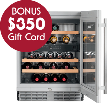 Liebherr UWTes 1672 Vinidor Dual Zone Built in Wine Cellar with BONUS $350 Gift Card