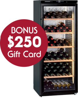 Liebherr WKb4112 Single Zone Wine Cellar with BONUS $250 Gift Card