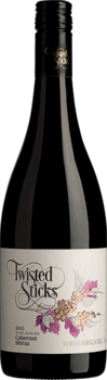 Twisted Sticks Organic Cabernet Shiraz 2015
